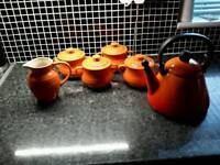 Selection of Le Creuset kitchenware