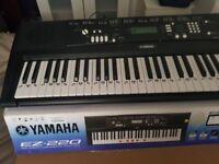 Yamaha EZ-220 Keyboard - Just like brand new