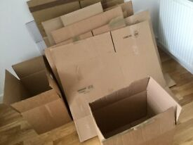 storage 30 boxes for free