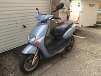 1998 MBK Ovetto / Yamaha Neos learner legal 50cc two stroke scooter with MOT.