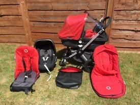 Bugaboo Chameleon pram and accessories - Complete infant travel system