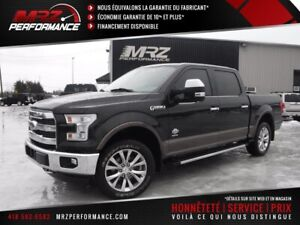 2015 Ford F-150 KING RANCH Crew Cab - Cuir Toit GPS - Superbe ca