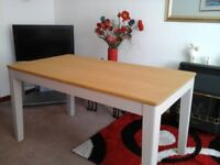Oak dining table brand new