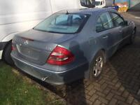 Mercedes E270 Cdi Breaking For Spares, All Parts Available