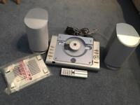 Working CD Player and Radio