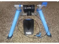 Tacx Booster cycle trainer.