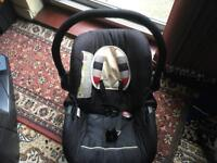Hauck baby car seat 0-13kg used good condition £5