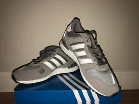 Grey Adidas's shoes