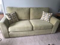 MachIng three and two seater sofas