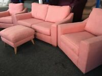 NEW - EX DISPLAYS John Lewis DOMA 2 SEATER + 1 SEATER + 1 SEATER SOFAS, 70% Off RRP