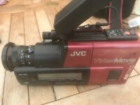 JVC VideoMovie VHS GR-45E compact video camera - spares or repair