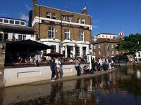 Kitchen porter, White Cross Richmond riverside, £7.20 per hour, Immediate start