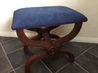 Morris Of Glasgow Stool Great Condition Beautiful Design.