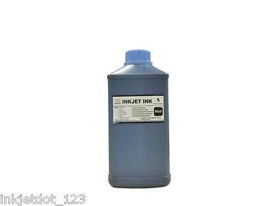 1 Liter Black Bulk Refill Ink For Hp Inkjet Printer Cartr...
