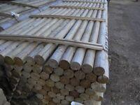 Timber Jump Pole 75mmx3.6m long
