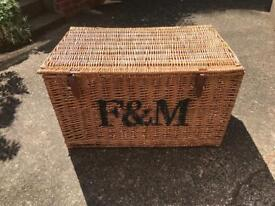 Fortnum & Mason Wicker Hamper - Large