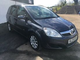 2009 ZAFIRA 7 SEATER 1 OWNER FROM NEW