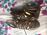 Brand New Jimmy Choo leather shoes uk 4 eu 37