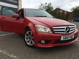 MERCEDES c180 BLUE-EFFICIENCY SE AUTO SATNAV BLUETOOTH LOW MILES FULL LEATHER , FULL SERVICE HISTORY