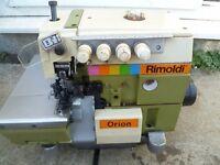 Rimoldi 2/3/5 Thread Industrial Overlocking Sewing Machine