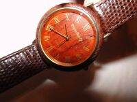 *CHARITY SALE* Peers Hardy wooden face watch -- vintage, good condition