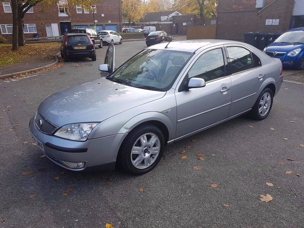 for sale 2004 Ford Mondeo GHIA model good condition and loads of specs