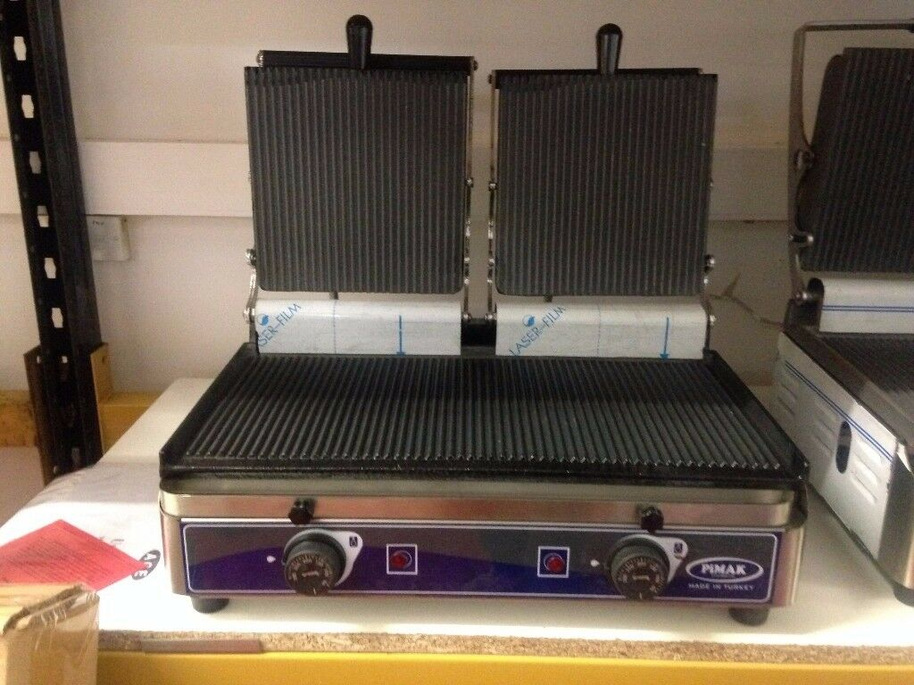 Double Panini Grill / New / Fast Food / Sandwich Bar