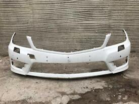 Mercedes c Class W204 AMG facelift 2011 2012 2013 2014 Genuine front bumper for sale