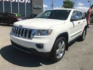 2012 Jeep Grand Cherokee OVERLAND  NAVIGATION TOIT OUVRANT