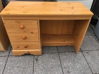 Nice WOODEN COMPUTER DESK FREE DELIVERY LOCAL