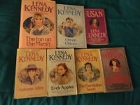 Lena Kennedy x 2 Hard Backs and 5 paper backs total of 7 books in pack
