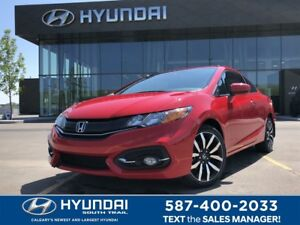 2014 Honda Civic Coupe EX-L - NAV, LEATHER, SUNROOF