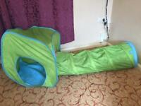 Kids Tent and Tunnel - VGC