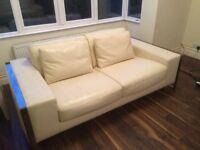 GORGEOUS & ELEGANT LEATHER Sofa set