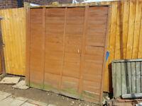 6' x 6' Garden Fence Panel - Free!