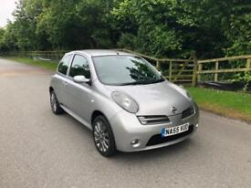 2205/55,Nissan micra 1.2,low miles,F.S.H, 12 months M.o.T