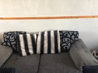 Settee and chair