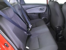 TOYOTA YARIS 1.0 VVT-I ACTIVE 5DR (red) 2016