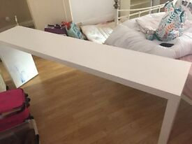 Free malm ikea table bed