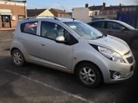 Spacious small car for sale. Chevrolet Spark LS Plus, 2011. £3000 ono.