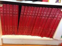 20 volumes full color encyclopedia set. The New Caxton Encyclopedia