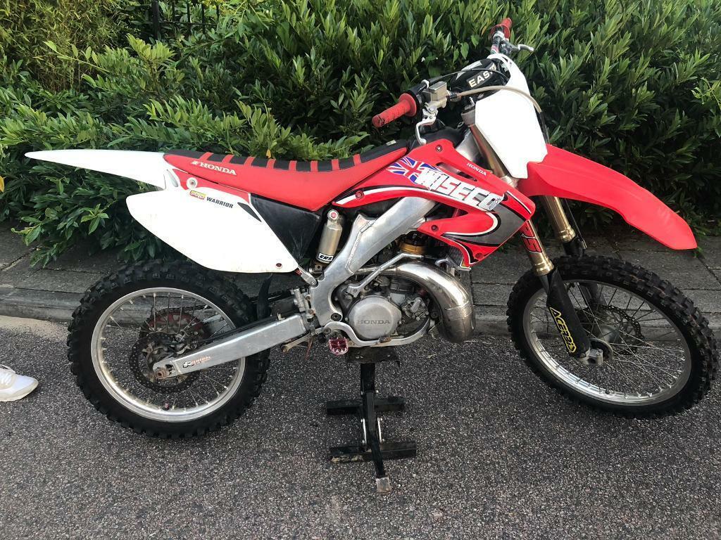 Honda Cr 250 R 2005 2 Stroke Not Ktm Yz Rm Kx Crf 85 125 450