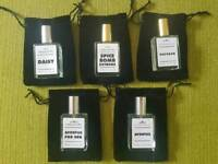 Aventus, oud wood, daisy etc. Prestige designer fragrances for him and her.