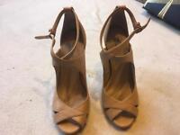 Zara woman ladies sandals heels size 36 used £5