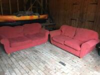 Set of Two Sofas Available For Free