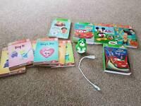Leapfrog tag reader and 11 books