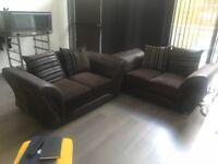 Great 2 x 2 seater sofa