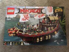 Lego Ninjago Movie Destiny Bounty 70618