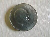 Coin – Queen Elizabeth II and Winston Churchill 1965