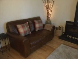 2 x Sofa and 2 x footstool